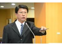 ▲國民黨台南市黨部主委、台南市議員謝龍介則表明不會參選正副議長及立委。(圖/記者林悅攝)