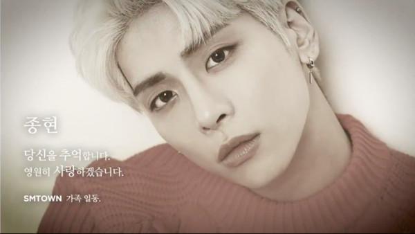 钟铉离开一年了! SHINee18日0点0分发47秒影片:永远爱你
