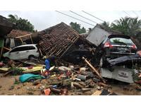 ▲▼ 印尼海嘯。(圖/路透社)