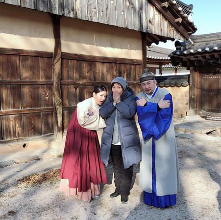 《大时代》夫妻档南韩庆州拍戏 零下9度冷到冻未条