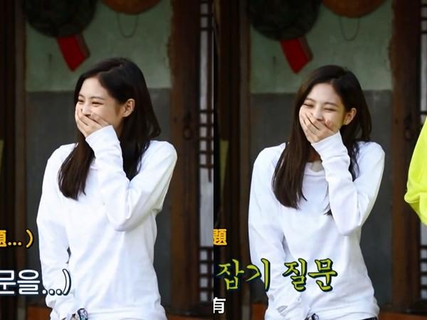刘在锡2个月前出题「和艺人交往过?」 Jennie一听完…摀嘴笑了!