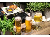 ▲喝啤酒就是要有下酒菜 SUNMAI BAR吃得到胡同串燒。(圖/記者黃士原攝)