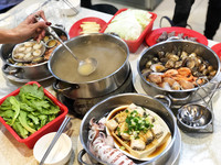 ▲▼清蒸海鮮是這2、3年頗為流行的料理方式。(圖/記者陳建竹攝)