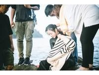 ▲▼鍾瑶坦言這是她拍過最困難的一場下水戲。(圖/東森提供)