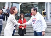 ▲▼前總統馬英九蒞臨ETtoday接受專訪,受到同仁熱烈歡迎。(圖/記者林敬旻攝)