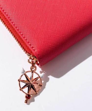 日本DRESSCAMP推出百变小樱手袋、银包!基路仔压花、梦之杖吊坠!