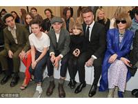 貝克漢(David Beckham)一家人。(圖/CFP)