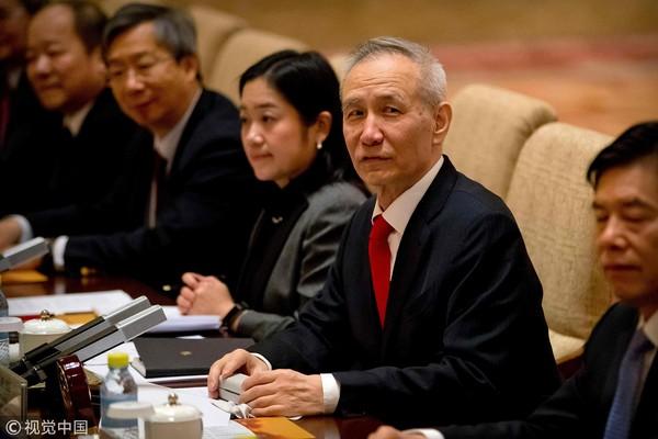 ▲劉鶴,中美貿易戰。(圖/CFP)