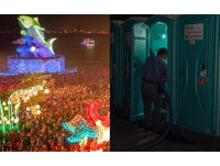 ▲▼      台灣燈會塞爆!無名功?#32908;?#27794;吃飯」掃廁所到天亮 1.5萬網狂讚:眼睛濕了       。(圖/翻攝自潘孟安臉書)