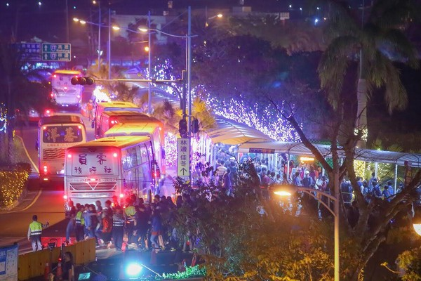 ▲▼  台灣燈會破1000萬人次 團隊檢討到凌晨           。(圖/翻攝自潘孟安臉書)
