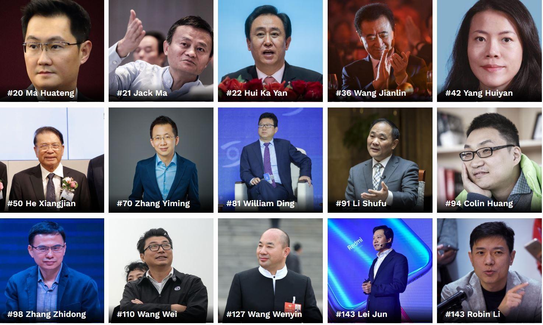 2019年山西富翁排行榜_腾讯宣布架构大调整 12年来 每天如履薄冰 的马化