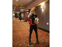 ▲▼「驚奇隊長」布麗拉森親自到影城宣傳。(圖/翻攝自Instagram/captainmarvelofficial)