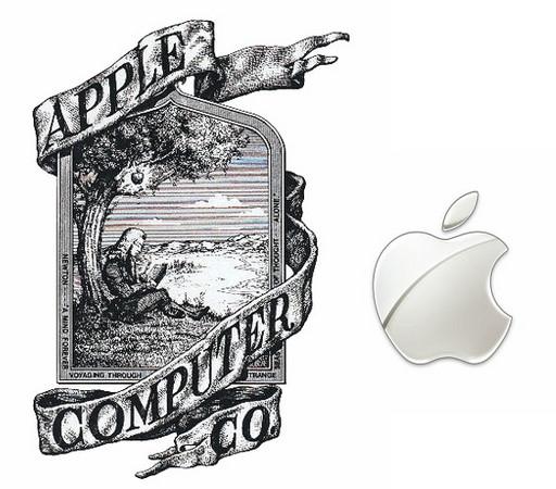 5.中世纪画风变身现代感十足的苹果