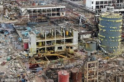 罹難者可能「瞬間汽化」!江蘇化工廠爆炸…封鎖區情況曝光