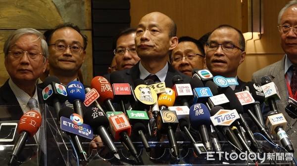 ▲高雄市長韓國瑜。(圖/記者洪靖宜攝)