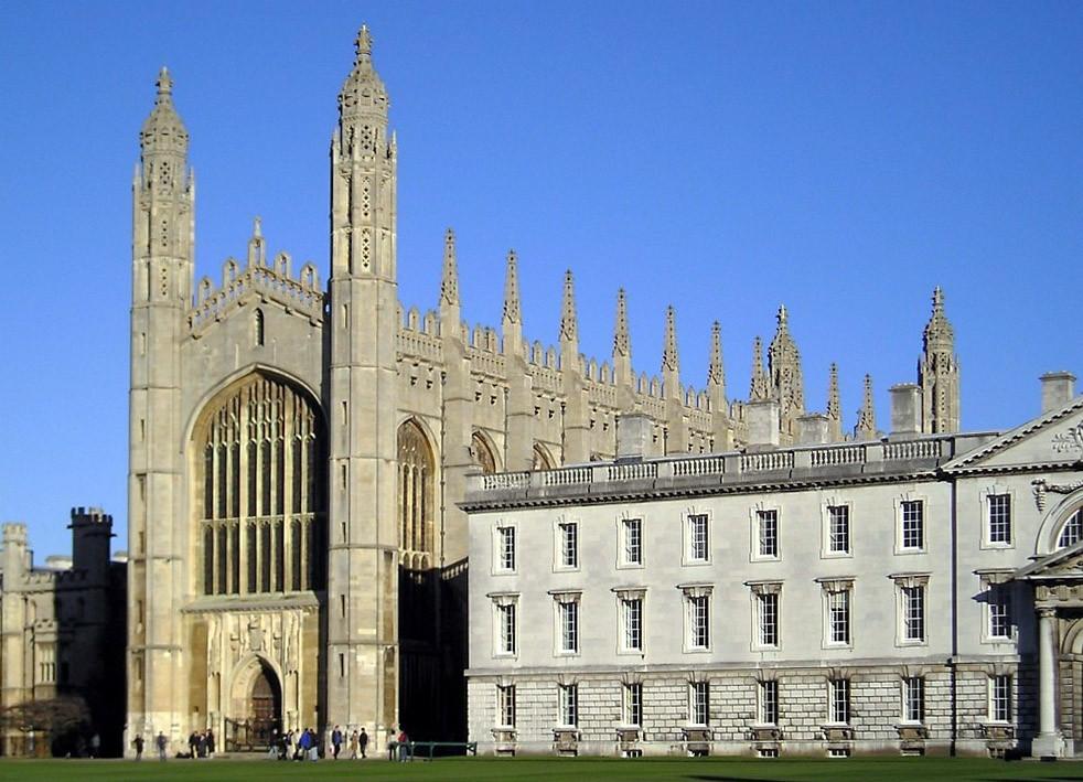 ▲劍橋大學國王學院。(圖/翻攝自維基百科)