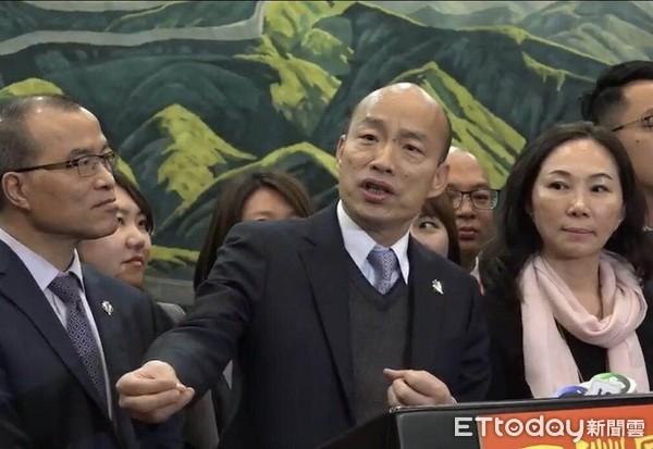 ▲高雄市長韓國瑜。(圖/記者吳奕靖攝)