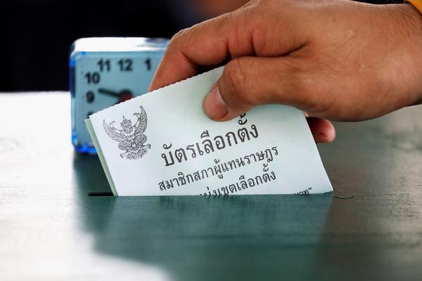 ▲▼泰國24日舉行國會大選。(圖/路透)