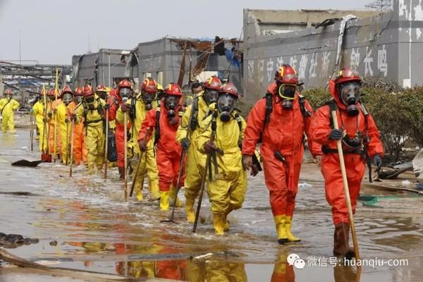 ▲▼江蘇鹽城響水爆炸,直擊爆炸核心區。(圖/翻攝自新華網)