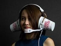 ▲耳機。(圖/日清官網)