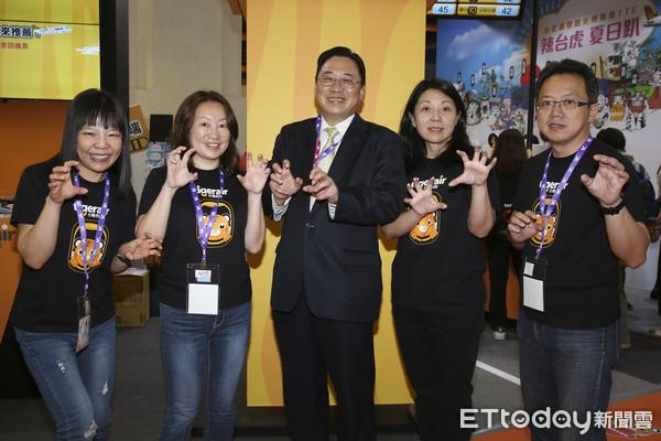 ▲中華航空旗下小金雞台灣虎航預計於明年第四季掛牌上市。(圖/記者黃克翔攝)