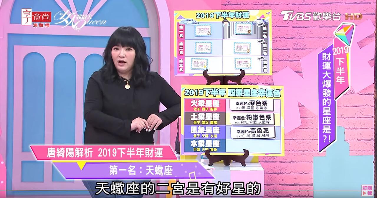 唐绮阳:天蝎、最好2019下半处女财运!但这3星巨蟹座女生的a最好图片
