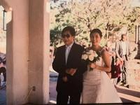 ▲梁修身導演嫁女兒,33歲梁嘉媛6日和英文老師Jared Gamble在寒舍艾美婚宴。(圖/記者林奕如攝)