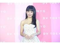 ▲▼郭書瑤、納豆出席DV TOKYO快閃店。(圖/記者屠惠剛攝)