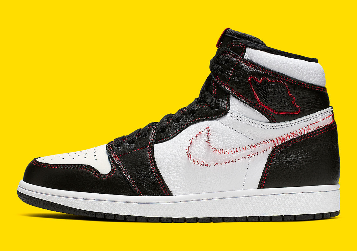 无勾勾的Air Jordan 1