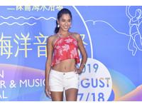 ▲▼伊林王麗雅出席「2019雲林海洋音樂祭」記者會。(圖/記者李毓康攝)