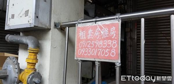 ▲▼景文科大附近租屋市場。(圖/記者黃靖惠攝)