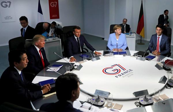 ▲▼ G7/川普。(圖/路透)