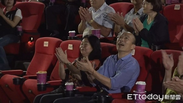 ▲▼韓國瑜出席市長與百工有約。(圖/記者洪正達攝)