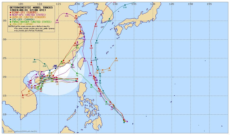 天氣圖。(圖/翻攝typhoon2000)