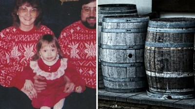 「儲藏室的木桶乾屍」是生母!養父母喊冤不知情,少女崩潰:我還能信誰
