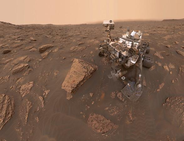 ▲好奇號探索火星。(圖/達志影像/美聯社)