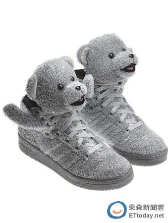 爱迪达,adidas,熊熊鞋,熊头鞋,运动鞋