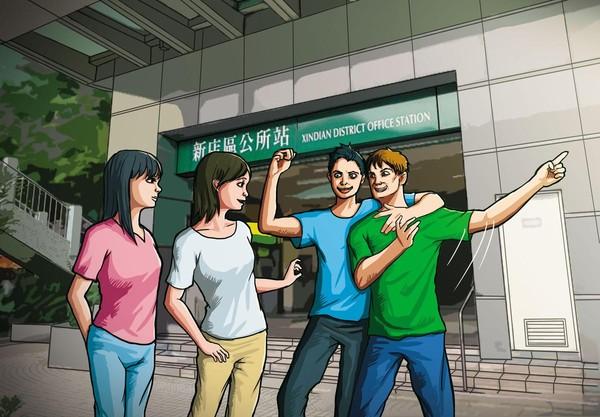 徐志皓在捷運站和許姓少年等人碰面後,就對方女起了色心。(圖為示意畫面)