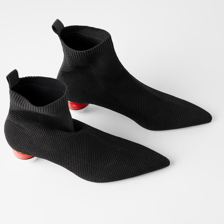 ZARA TRF短靴