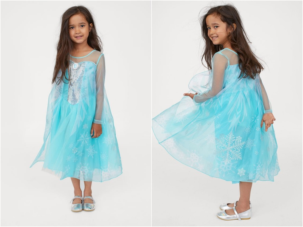 《冰雪奇缘》公主梦成真!H&M备好仙气艾莎公主装 GU推超萌雪宝家居服