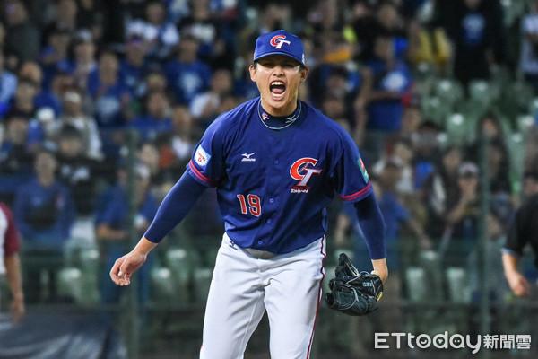 ▲12強棒球賽,中華隊張奕關鍵三振。(圖/記者林敬旻攝)
