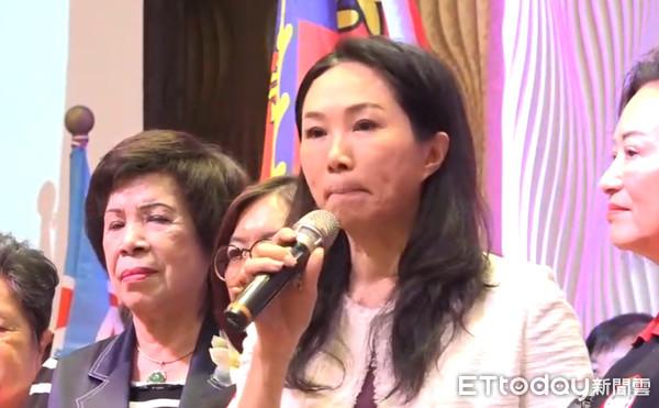 ▲韓國瑜夫人李佳芬參加屏東婦女後援會成立          。(圖/記者吳奕靖攝)