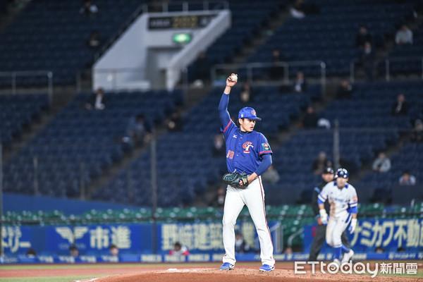▲12強棒球賽複賽,中華隊張奕。(圖/記者林敬旻攝)