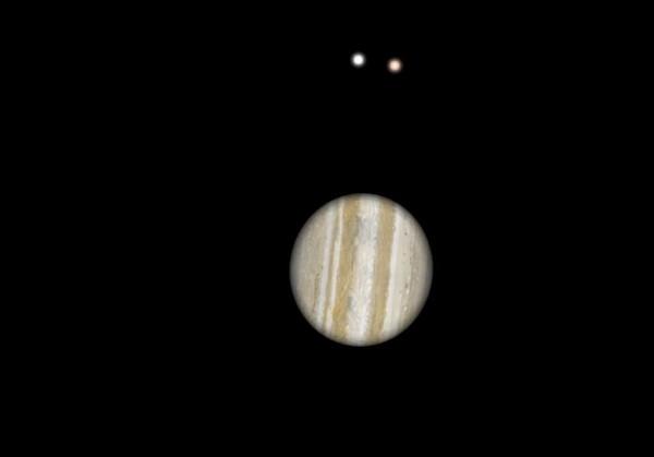 1/6木星冲亮度达-2.7等