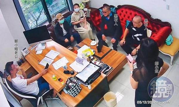 舒子晨「撂黑衣人上門嗆聲」逼解約! 監視器畫面曝…公司遭威脅怒:忘恩負義