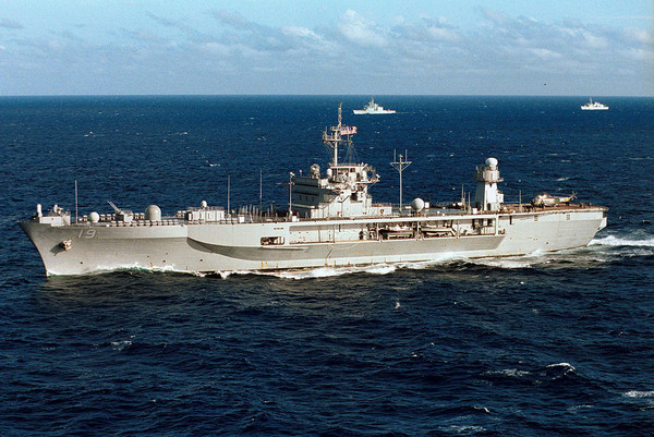 ▲▼USS Blue Ridge LCC-19,藍嶺號。(圖/ U.S. federal government)