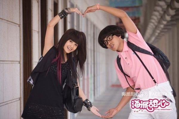 ▼罗志祥2009年和杨丞琳合作的《海派甜心》收视率不错.