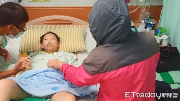 快訊/癌末女見到媽媽了! 母赴醫院探視心碎:懷胎10月怎麼會不難過