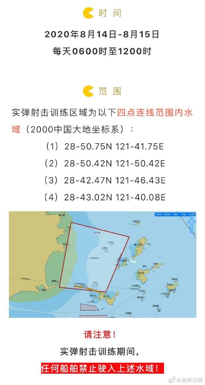 台海、台灣南北實戰演習!解放軍發2天航行警告 射擊範圍曝光了