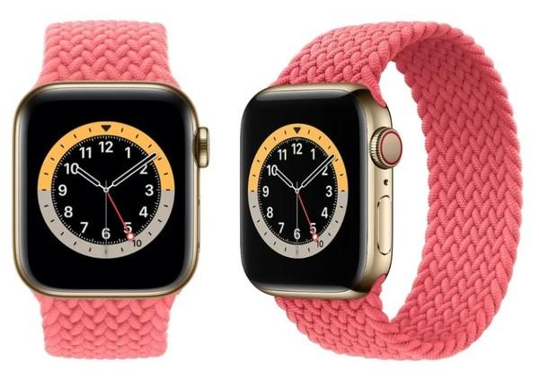 ▲Apple Watch 6,Apple Watch Series 6,錶環,錶帶。(圖/取自MacRumors)